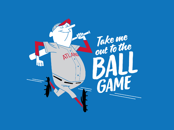 Take Me Out to the Ballgame graphic