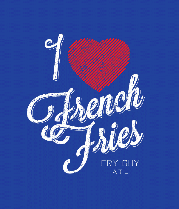 I Love French Fries graphic